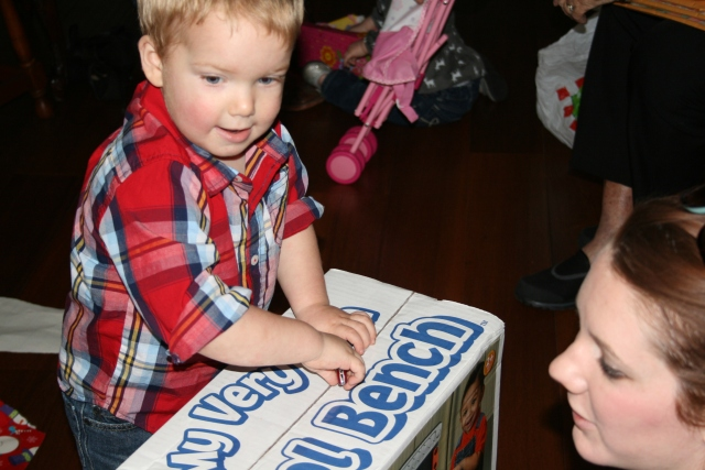 "Wyatt just had to ""think"" he was opening the box"