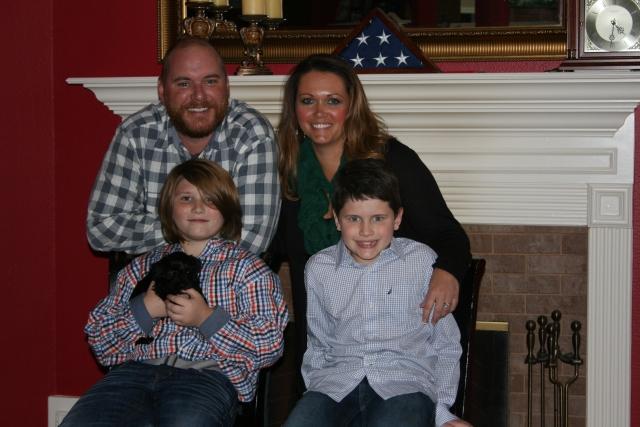 Josh and family