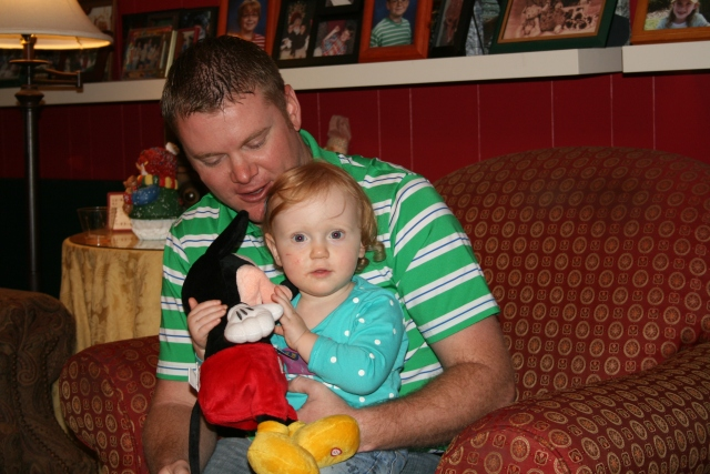 Kyle and Adley - she loved Mickey
