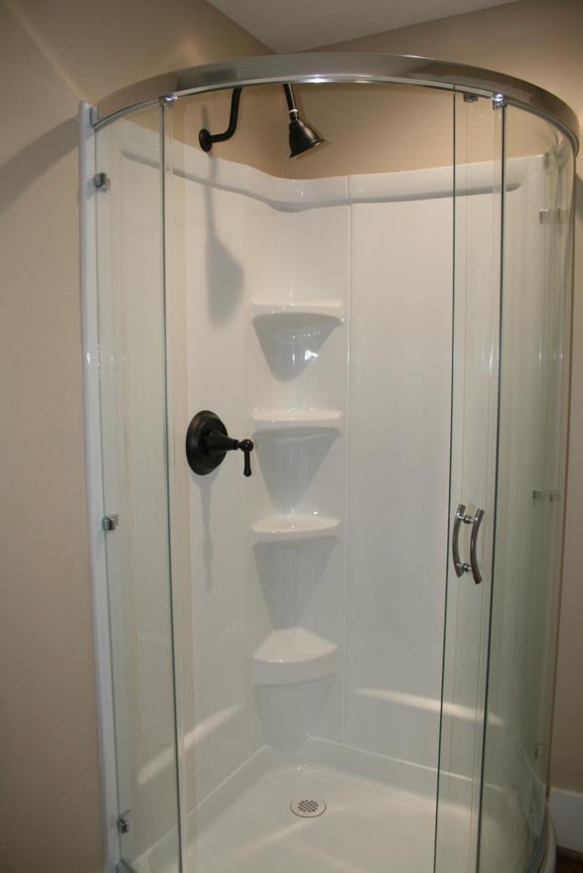 new shower hardware
