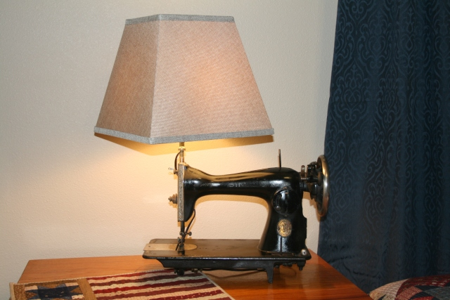 our new lamp
