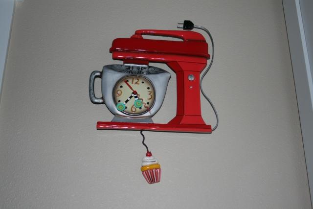 mixer clock