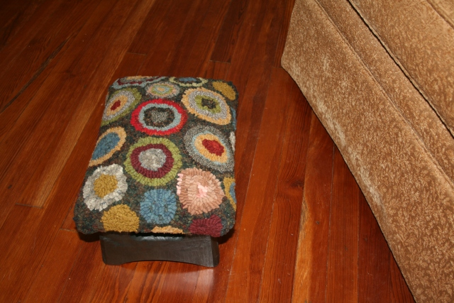 my new footstool