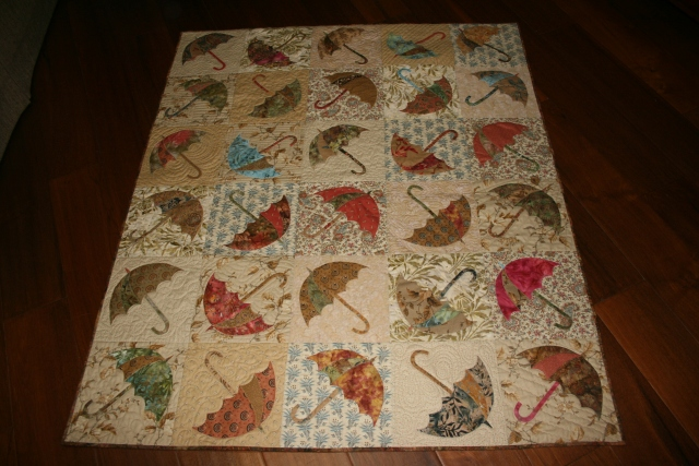 my Dancing Umbrella quilt