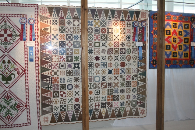 I don't recall who made this, but I do have a crush on Dear Jane quilts.  One is on my bucket list