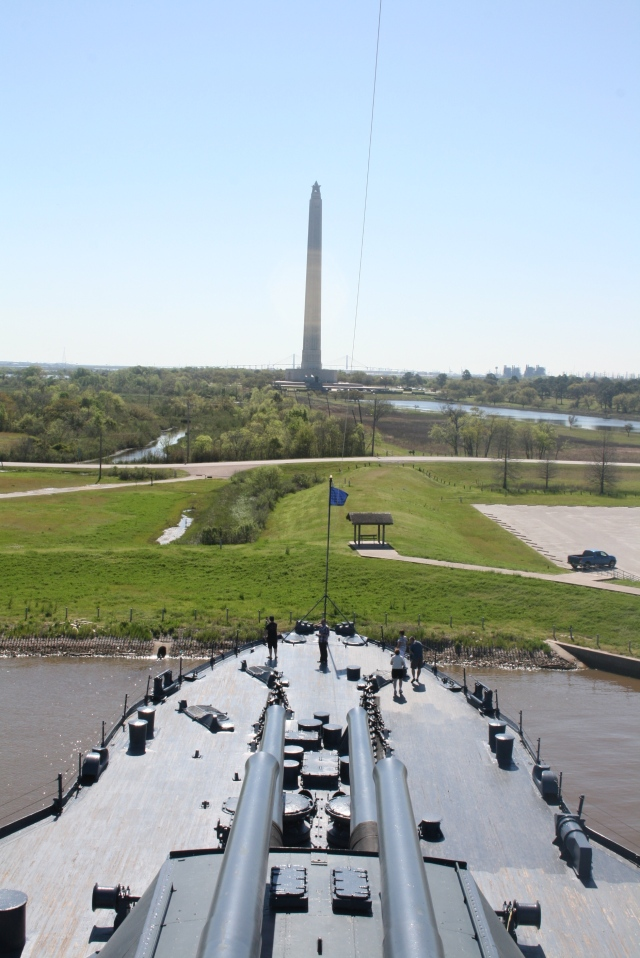 Battleship and Monument