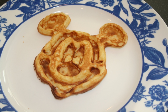 we even had Mickey for breakfast