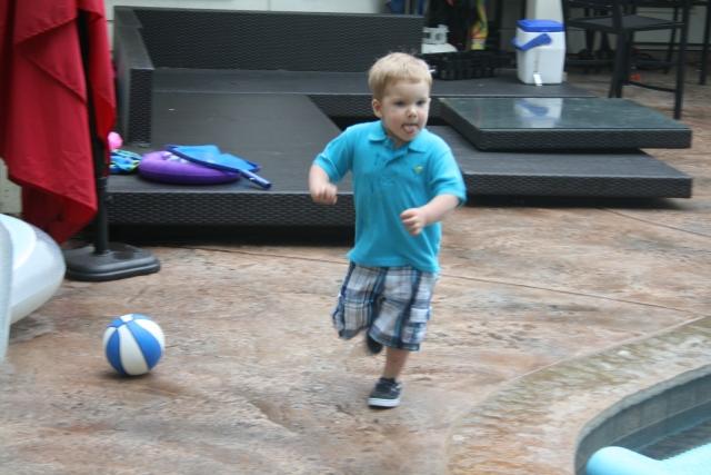 Wyatt running