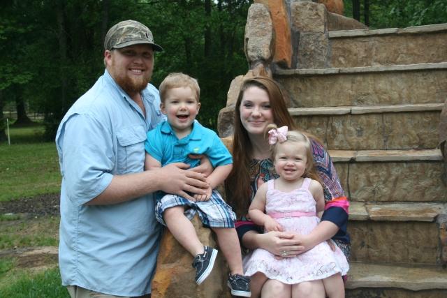Joseph, Wyatt, Katie and Kynlee