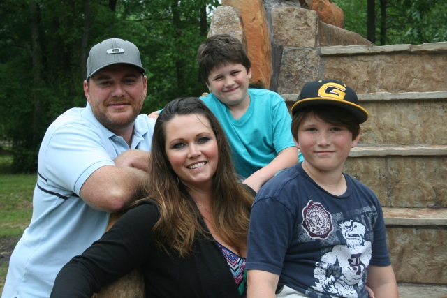 Josh, Angela, Dylan and Jaiden