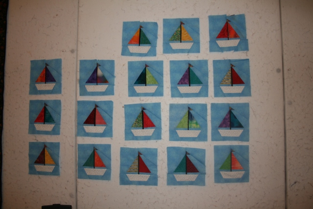 our sail boats
