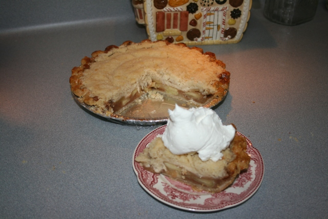 apple pie and cool whip