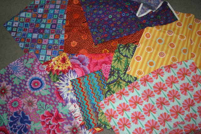 my fabrics for my dresses