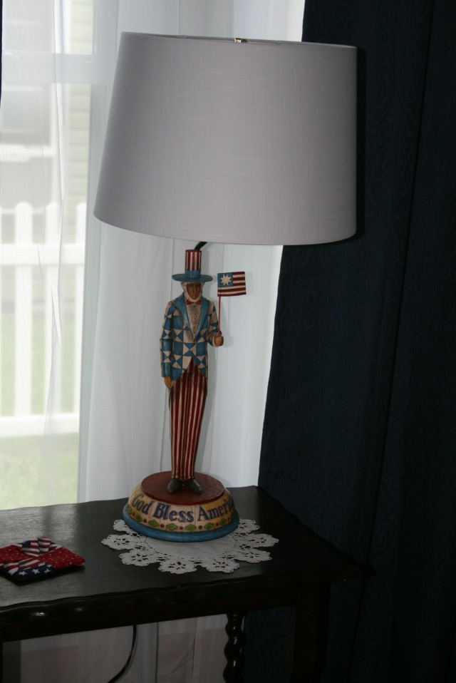 my new lamp
