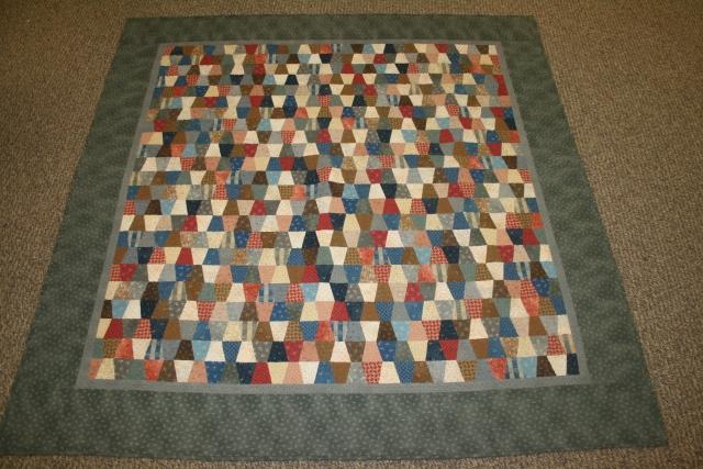mini tumbler quilt
