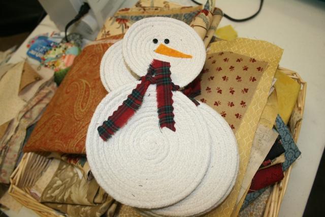 Gloria's snowmen