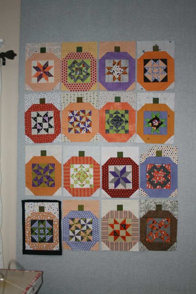 my pumpkin blocks all done