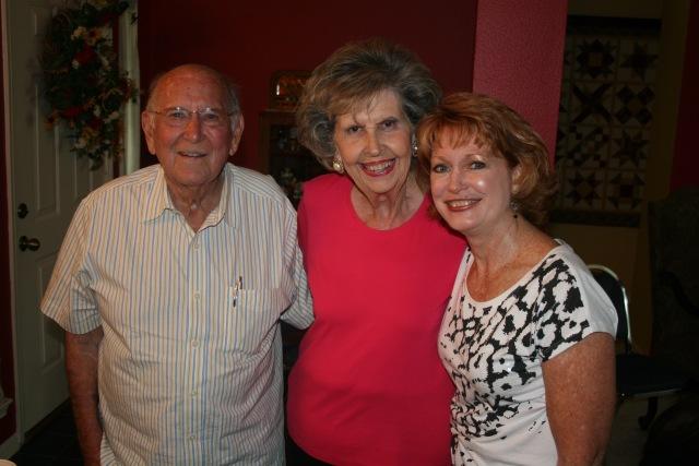 Mr K, Barbara and myself