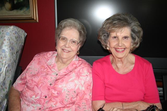 my Mom and Barbara