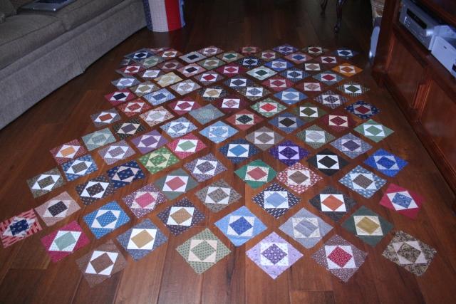 square in a square blocks