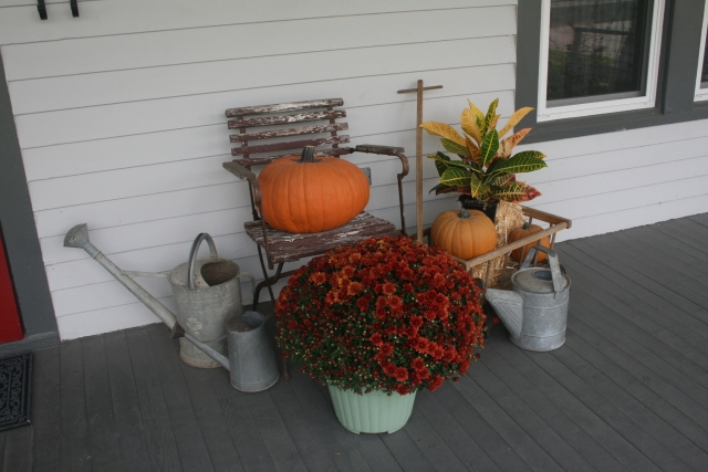 my fall decor