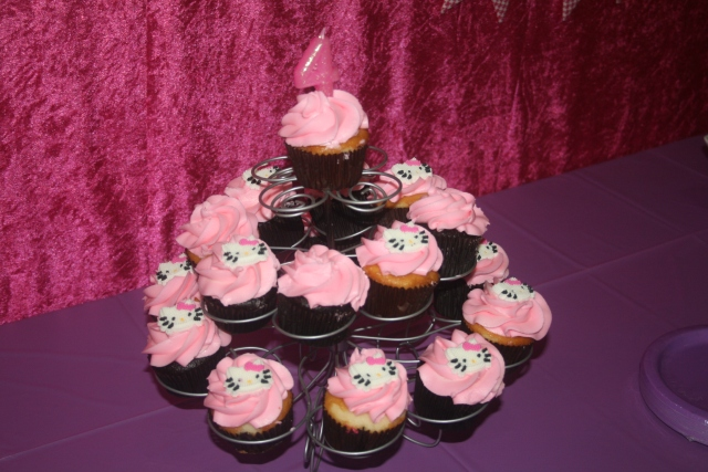 cupcakes for the birthday girl