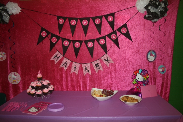 surprise decorations by Kara and Pattie