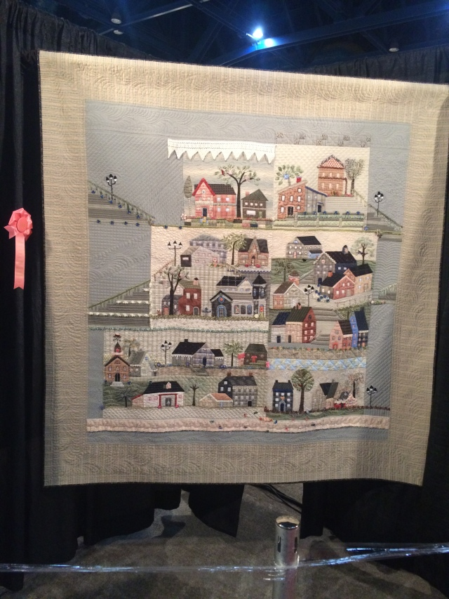 this one was the Lakeview guild donation quilt, wished I would have won it