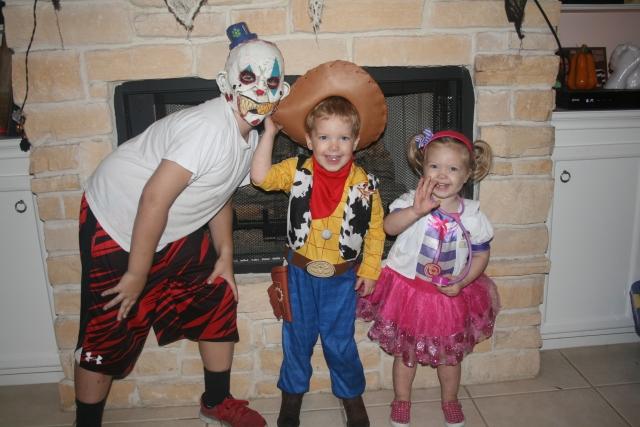 Jaiden, Wyatt and Kynlee