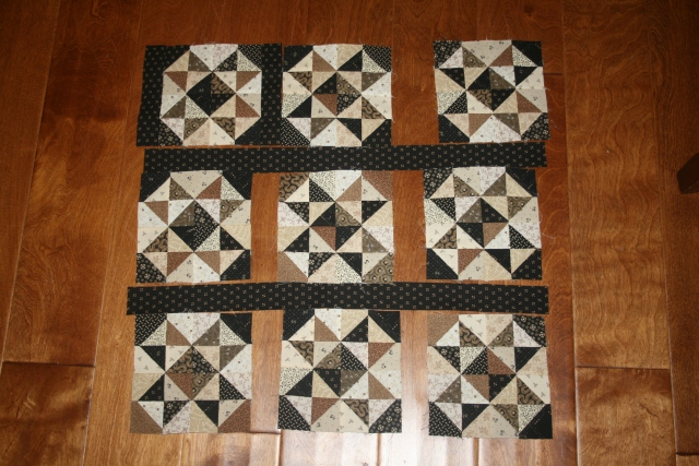 Leftover Stars pattern by Red Crinoline Quilts