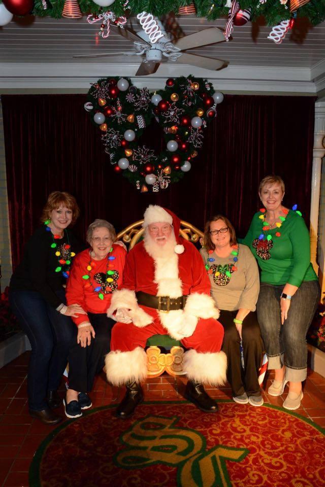 Magic Kingdom with Santa