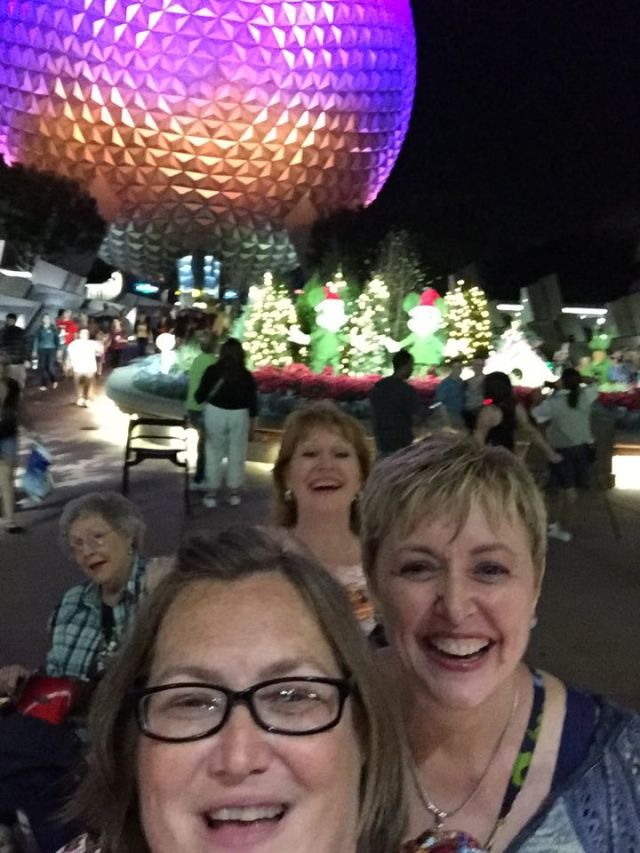 our first night at Epcot