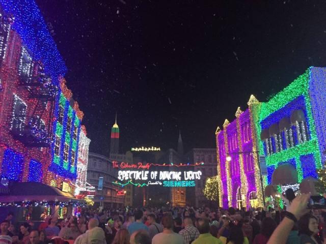 Hollywood light show