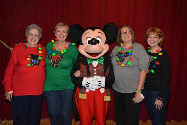 our photo with Mickey Mouse