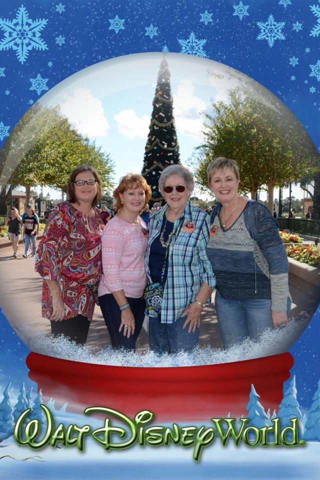 our snow globe