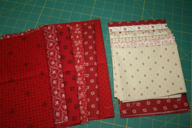 Tiny Dancer fabric from Red Crinoline Quilts