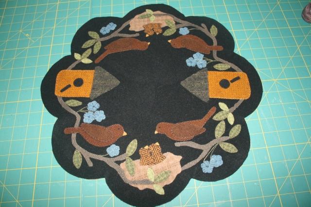 Primitive Gatherings, Nesting Time table mat