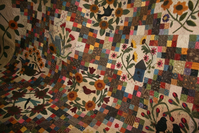 Sunflower Gatherings quilting