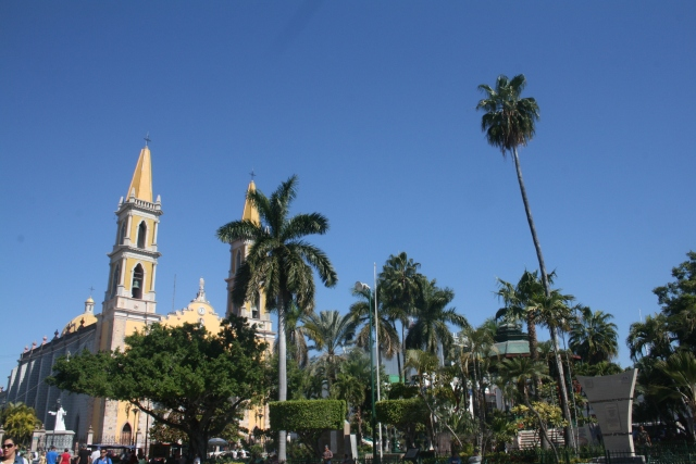 another view of their cathedral and park area
