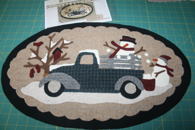 Buttermilk Basin, Vintage Truck January ready for thread