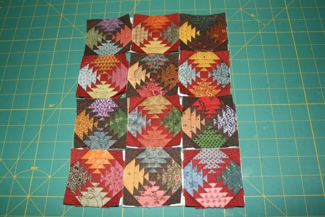 12 pineapple blocks
