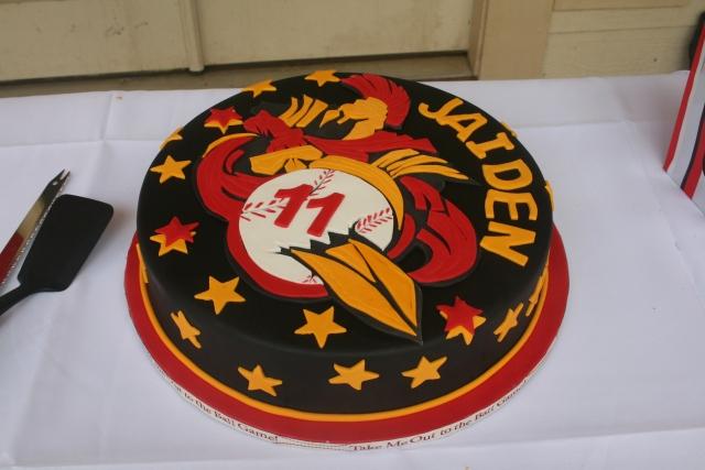 Jaiden's cake