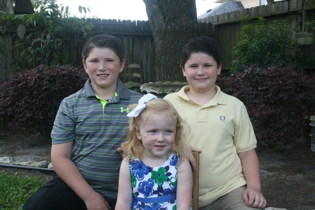 Jaiden, Adley and Dylan