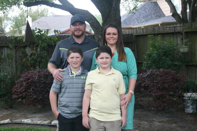 Josh, Angela, Jaiden and Dylan