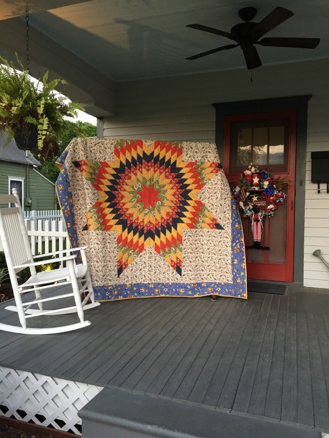 our quilt airing