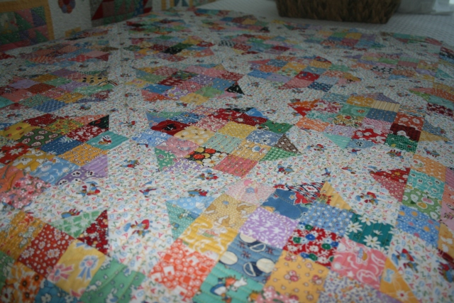 a closer view of the AR crossroads quilt