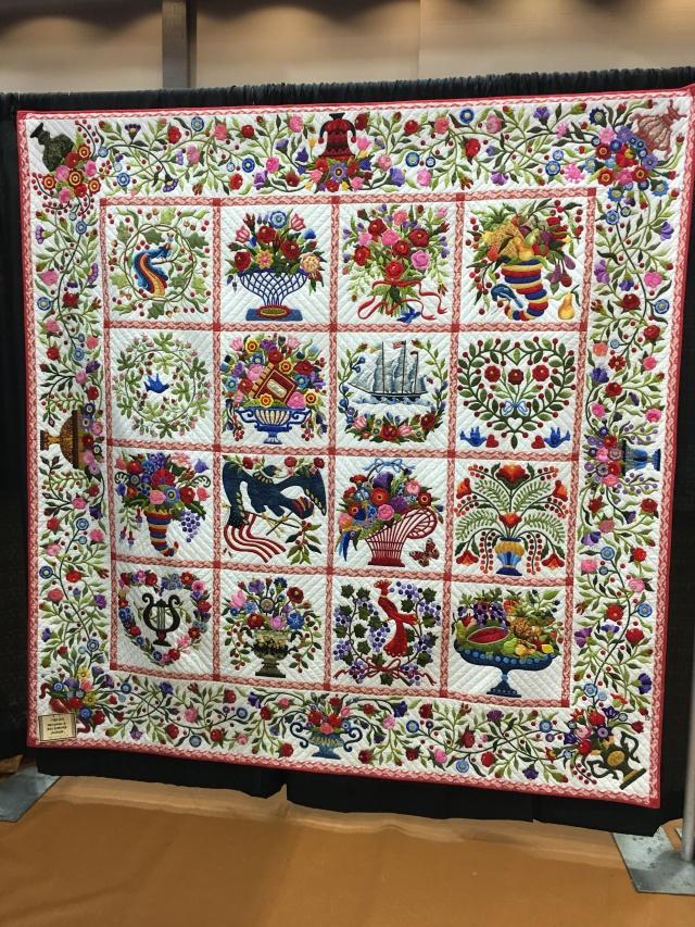 Hester's quilt - stunning