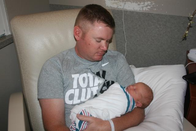 Daddy and Bennett