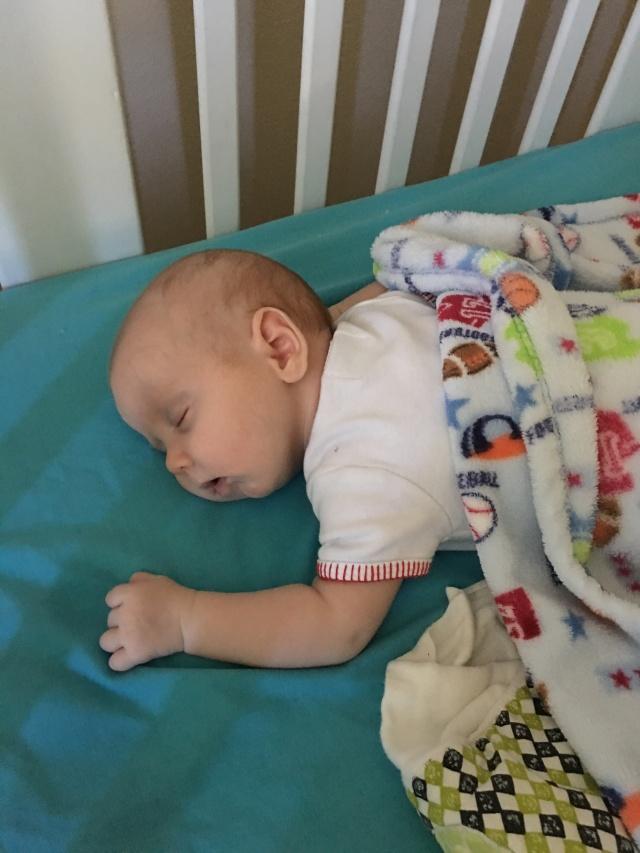 sweet Bennett sleeping