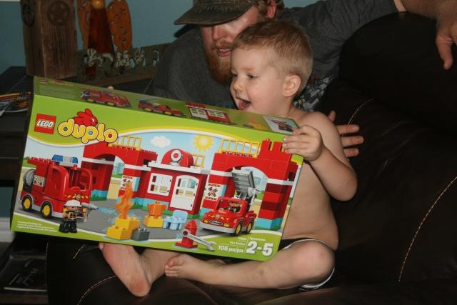 he loves Legos
